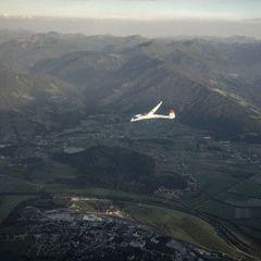 Flugwegposition um 16:16:22: Aufgenommen in der Nähe von Gemeinde Ardning, Österreich in 2483 Meter