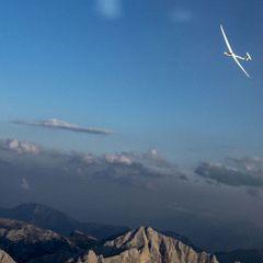Flugwegposition um 16:45:42: Aufgenommen in der Nähe von St. Martin am Grimming, Österreich in 2589 Meter