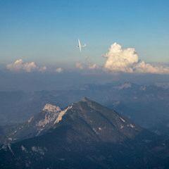 Flugwegposition um 16:46:26: Aufgenommen in der Nähe von St. Martin am Grimming, Österreich in 2548 Meter