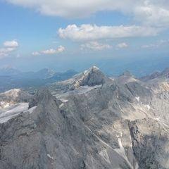Flugwegposition um 14:04:52: Aufgenommen in der Nähe von Gemeinde Ramsau am Dachstein, 8972, Österreich in 2929 Meter