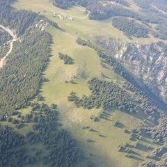 Flugwegposition um 15:26:44: Aufgenommen in der Nähe von Mürzsteg, Österreich in 2048 Meter