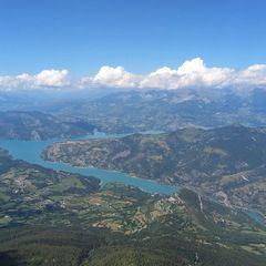 Flugwegposition um 12:53:00: Aufgenommen in der Nähe von Département Alpes-de-Haute-Provence, Frankreich in 2567 Meter