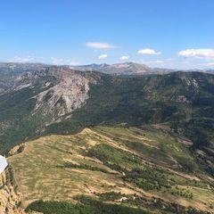 Flugwegposition um 11:27:08: Aufgenommen in der Nähe von Département Alpes-de-Haute-Provence, Frankreich in 1621 Meter