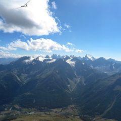 Flugwegposition um 14:34:54: Aufgenommen in der Nähe von Département Hautes-Alpes, Frankreich in 3187 Meter