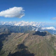 Flugwegposition um 15:08:11: Aufgenommen in der Nähe von Département Hautes-Alpes, Frankreich in 3407 Meter