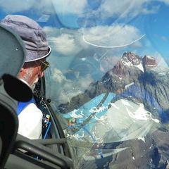 Flugwegposition um 15:09:05: Aufgenommen in der Nähe von Département Hautes-Alpes, Frankreich in 3482 Meter