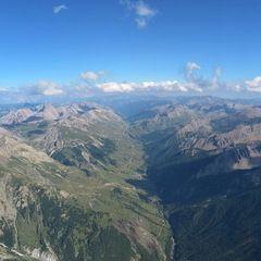 Flugwegposition um 15:28:01: Aufgenommen in der Nähe von Département Alpes-de-Haute-Provence, Frankreich in 3392 Meter