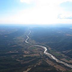 Flugwegposition um 16:04:08: Aufgenommen in der Nähe von Département Alpes-de-Haute-Provence, Frankreich in 1730 Meter