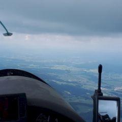 Flugwegposition um 14:07:56: Aufgenommen in der Nähe von Gemeinde Oepping, Österreich in 1792 Meter