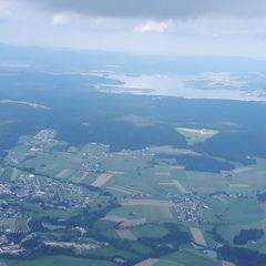 Flugwegposition um 14:07:51: Aufgenommen in der Nähe von Gemeinde Oepping, Österreich in 1798 Meter