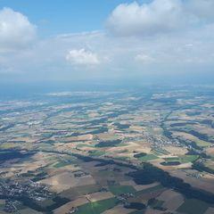 Flugwegposition um 11:12:25: Aufgenommen in der Nähe von Gemeinde Piberbach, Piberbach, Österreich in 1567 Meter