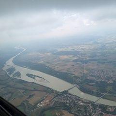 Flugwegposition um 13:19:03: Aufgenommen in der Nähe von Gemeinde Mörschwang, Österreich in 1692 Meter