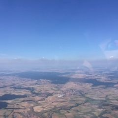 Verortung via Georeferenzierung der Kamera: Aufgenommen in der Nähe von Haßberge, Deutschland in 1700 Meter