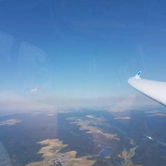 Flugwegposition um 11:59:41: Aufgenommen in der Nähe von Kronach, Deutschland in 1569 Meter