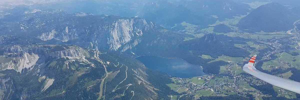 Flugwegposition um 11:38:15: Aufgenommen in der Nähe von Gemeinde Altaussee, Österreich in 2716 Meter