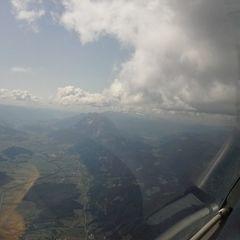 Flugwegposition um 11:43:52: Aufgenommen in der Nähe von Gemeinde Liezen, Liezen, Österreich in 2395 Meter