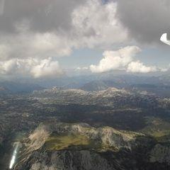 Flugwegposition um 12:11:33: Aufgenommen in der Nähe von Gemeinde Ramsau am Dachstein, 8972, Österreich in 2917 Meter