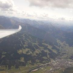 Flugwegposition um 12:12:23: Aufgenommen in der Nähe von Gemeinde Ramsau am Dachstein, 8972, Österreich in 2923 Meter