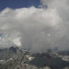Flugwegposition um 12:14:34: Aufgenommen in der Nähe von Gemeinde Ramsau am Dachstein, 8972, Österreich in 3000 Meter