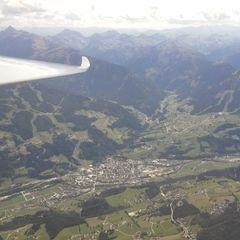 Flugwegposition um 12:13:44: Aufgenommen in der Nähe von Gemeinde Ramsau am Dachstein, 8972, Österreich in 3022 Meter