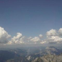 Flugwegposition um 12:58:23: Aufgenommen in der Nähe von Rottenmann, Österreich in 2571 Meter