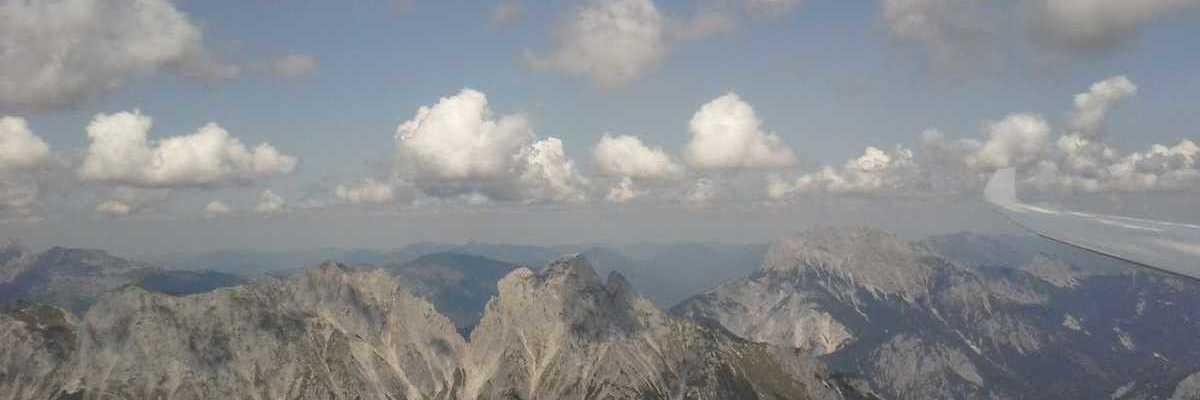 Flugwegposition um 11:29:09: Aufgenommen in der Nähe von Gaishorn am See, Österreich in 2386 Meter