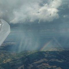 Flugwegposition um 14:51:41: Aufgenommen in der Nähe von 05018 Orvieto, Terni, Italien in 1622 Meter