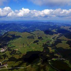 Flugwegposition um 11:35:51: Aufgenommen in der Nähe von Gemeinde Breitenau am Hochlantsch, 8614, Österreich in 1780 Meter