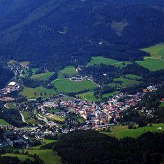 Flugwegposition um 13:16:38: Aufgenommen in der Nähe von Gußwerk, Österreich in 2363 Meter