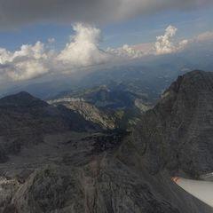 Flugwegposition um 11:47:50: Aufgenommen in der Nähe von Gemeinde Maria Alm am Steinernen Meer, 5761, Österreich in 2027 Meter