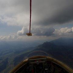 Flugwegposition um 10:12:56: Aufgenommen in der Nähe von Gußwerk, Österreich in 1993 Meter