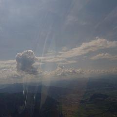 Flugwegposition um 10:03:12: Aufgenommen in der Nähe von Halltal, Österreich in 1782 Meter