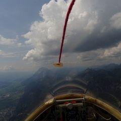 Flugwegposition um 10:03:10: Aufgenommen in der Nähe von Halltal, Österreich in 1783 Meter