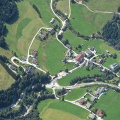 Flugwegposition um 11:08:35: Aufgenommen in der Nähe von St. Nikolai im Sölktal, 8961, Österreich in 2557 Meter