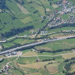 Flugwegposition um 11:46:03: Aufgenommen in der Nähe von Gemeinde Rennweg am Katschberg, 9863, Österreich in 2843 Meter