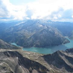 Flugwegposition um 11:59:00: Aufgenommen in der Nähe von Gemeinde Hüttschlag, 5612, Österreich in 3012 Meter