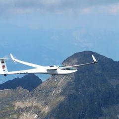 Flugwegposition um 12:42:44: Aufgenommen in der Nähe von Schladming, Österreich in 2878 Meter