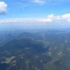 Flugwegposition um 13:45:50: Aufgenommen in der Nähe von St. Georgen am Reith, 3344 St. Georgen am Reith, Österreich in 2178 Meter