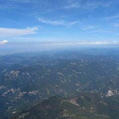 Flugwegposition um 14:04:53: Aufgenommen in der Nähe von Gemeinde Mitterbach am Erlaufsee, Österreich in 2591 Meter