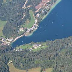 Flugwegposition um 13:49:24: Aufgenommen in der Nähe von Lunz am See, Österreich in 1958 Meter