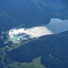 Flugwegposition um 14:12:17: Aufgenommen in der Nähe von St. Sebastian, Österreich in 2679 Meter
