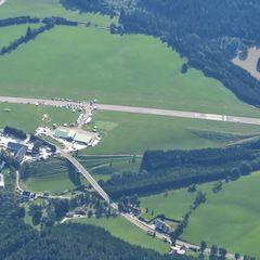 Flugwegposition um 14:12:21: Aufgenommen in der Nähe von St. Sebastian, Österreich in 2687 Meter