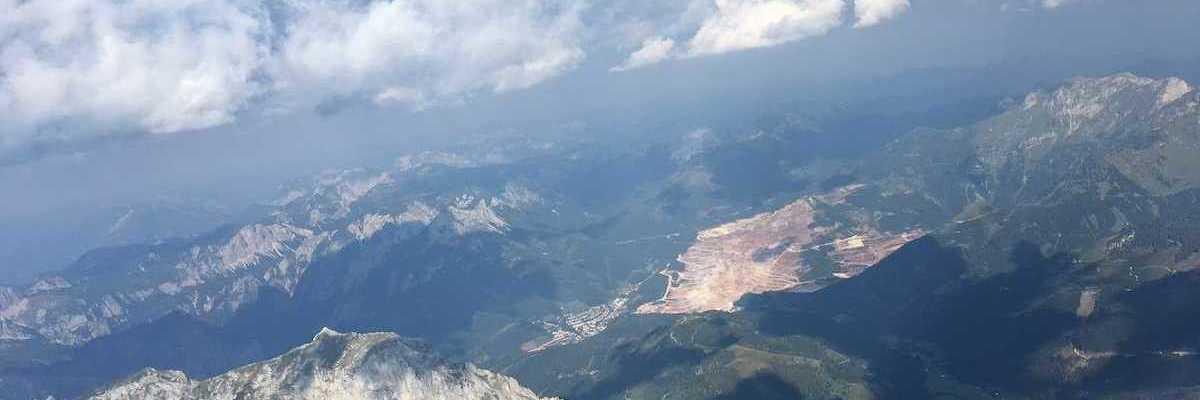 Flugwegposition um 15:06:42: Aufgenommen in der Nähe von Radmer, 8795, Österreich in 2872 Meter