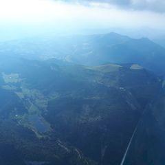 Flugwegposition um 16:14:46: Aufgenommen in der Nähe von Gemeinde Abtenau, Österreich in 2581 Meter