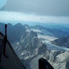 Flugwegposition um 15:58:48: Aufgenommen in der Nähe von Gemeinde Ramsau am Dachstein, 8972, Österreich in 3126 Meter