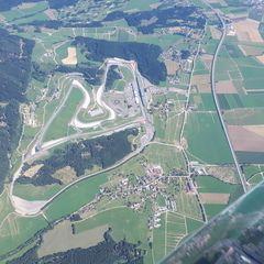 Flugwegposition um 11:40:27: Aufgenommen in der Nähe von Gemeinde Fohnsdorf, Fohnsdorf, Österreich in 2427 Meter