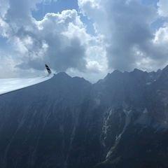 Verortung via Georeferenzierung der Kamera: Aufgenommen in der Nähe von Gemeinde Kuchl, Österreich in 2100 Meter