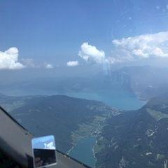Verortung via Georeferenzierung der Kamera: Aufgenommen in der Nähe von Gemeinde St. Gilgen, Österreich in 2200 Meter