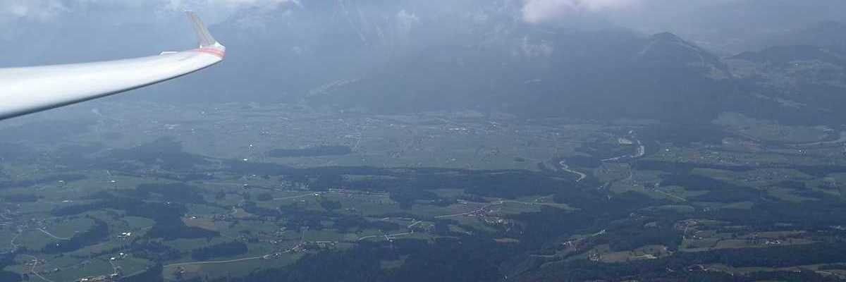 Flugwegposition um 11:42:01: Aufgenommen in der Nähe von Gemeinde Krispl, 5425 Krispl, Österreich in 2152 Meter
