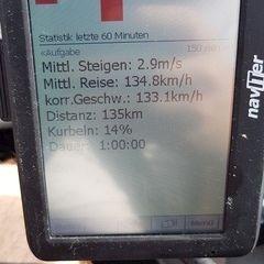 Flugwegposition um 13:15:52: Aufgenommen in der Nähe von Cham, Deutschland in 2051 Meter